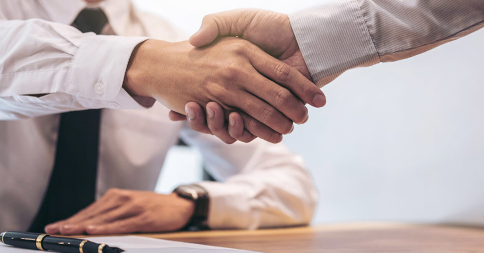 customer formal positive business